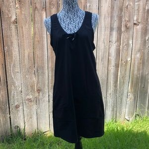 Lucy Black Daily Practice Dress Size M